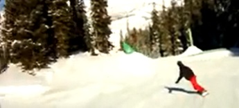 Roy Moranz in the Crested Butte Terrain Park