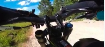 Roy Moranz Downhill Mountain Biking in Winter Park Colorado with Ryan Moranz and gang.