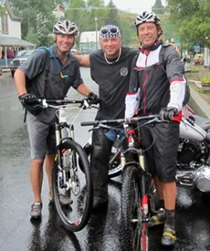 Picture of Roy Moranz, Todd Davidson and Turbo Ervin in Crested Butte
